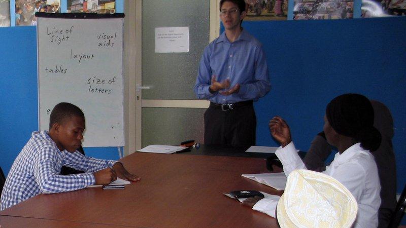 Tourki Mohamed Ali teacher training workshop
