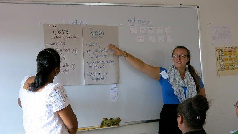gabrielle teaching