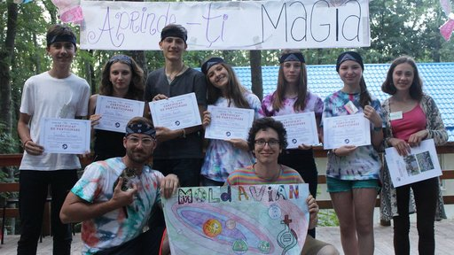 Moldovan youth tackle gender norms at Camp GLOW TOBE
