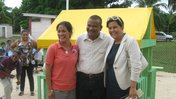 Natalie Macias served as a health volunteer in Belize.