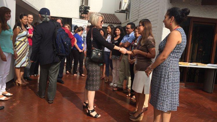 Meeting Peace Corps Peru staff