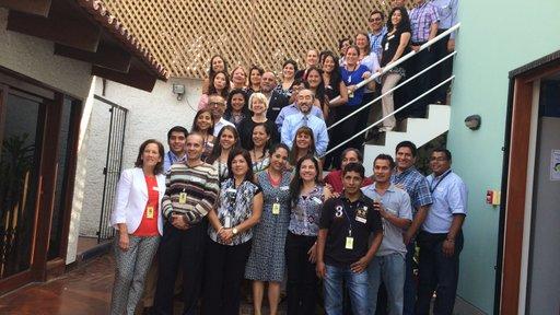 With Peace Corps Peru staff
