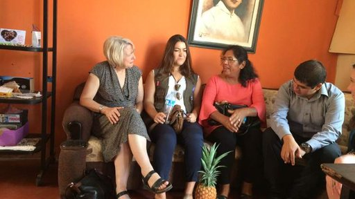 I love meeting with host families and seeing what strong relationships our Volunteers have developed.