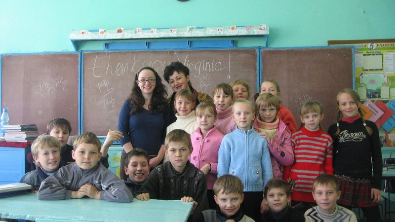 Virginia Pasley Ukraine