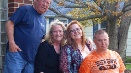 Lynne Newlon and family