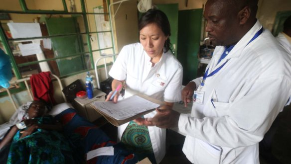 Teaching the next generation of doctors in Tanzania