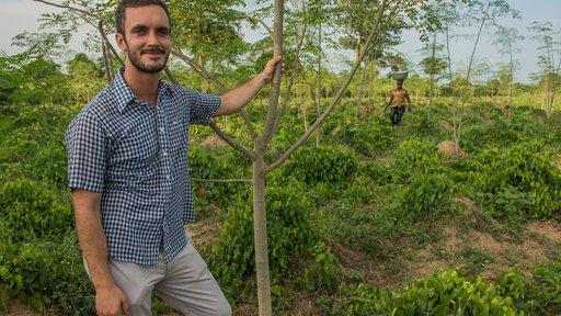 Joe Stein was a Peace Corps Volunteer in Ghana.