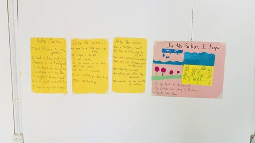 My students' stories about Hurricane Maria.