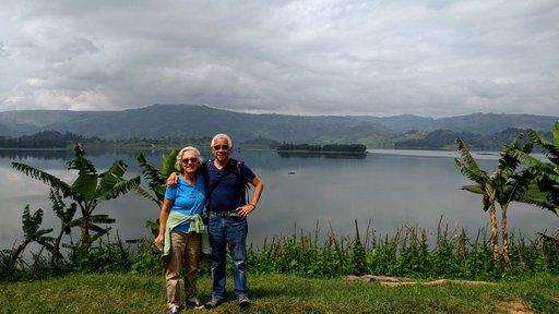 Anne Lezak serves as a Peace Corps Response Volunteer in Uganda alongside her husband.