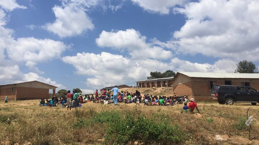 Visiting a village outside of Mzuzu, Malawi for a monthly community mental health clinic.
