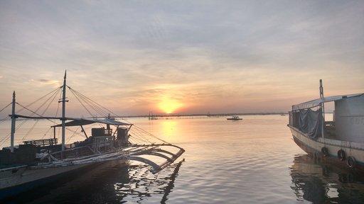 Philippines sunrise