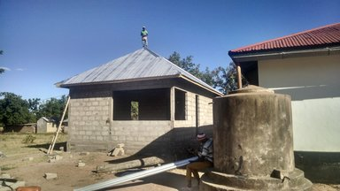 Youth Health Room Under Construction