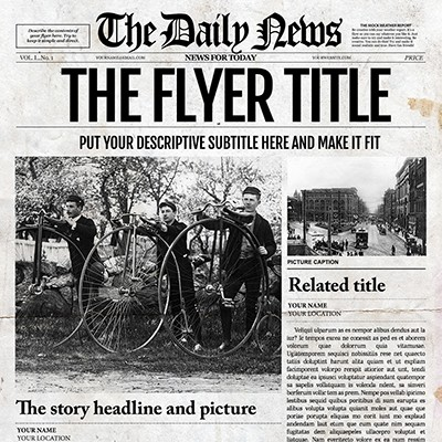 Payment For The Daily News Newspaper Template For Adobe Photoshop Cc