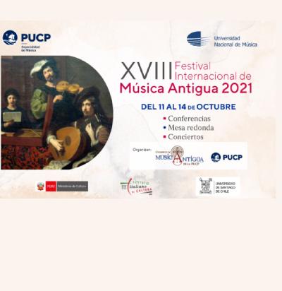 Docentes DARES fueron parte del XVIII edición del Festival Internacional de Música Antigua