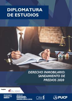 Diplomatura en Derecho Inmobiliario: Saneamiento de Predios 2020