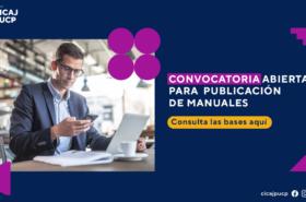 CONVOCATORIA ABIERTA PARA PUBLICACIÓN DE MANUALES