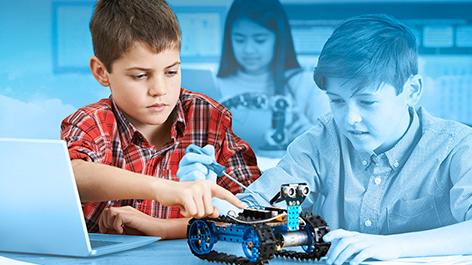 Taller de Robótica para Escolares en Nivel Evolución