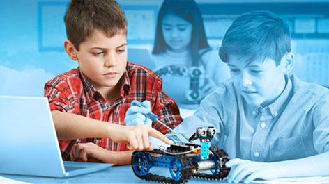 Taller de Robótica para Escolares en Nivel Básico - Febrero - Ma y Jue- Febrero (martes y jueves)
