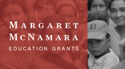 Margaret McNamara Education Grants (MMEG)