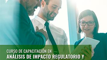 Capacitación en Análisis de Impacto Regulatorio y Calidad de Políticas Públicas