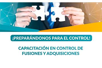 Capacitación en Control de Fusiones y Adquisiciones