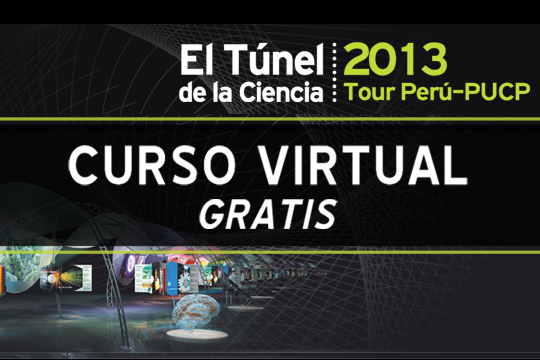 Ya está disponible el curso virtual para profesores sobre El Túnel de la Ciencia