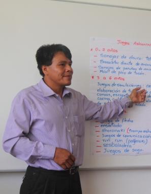 TALLER PARA DOCENTES DE COMUNIDADES ASHANINKA Y SHIPIBOKONIBO