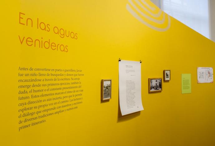 Exposición sobre Javier Heraud presenta piezas de nuestra Colección Especial