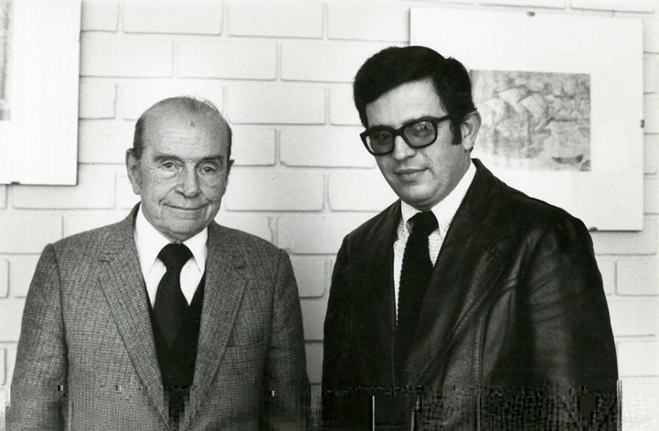 Los recordados profesores Onorio Ferrero y Franklin Pease García fueron también decanos de la Facultad de Letras y Ciencias Humanas.