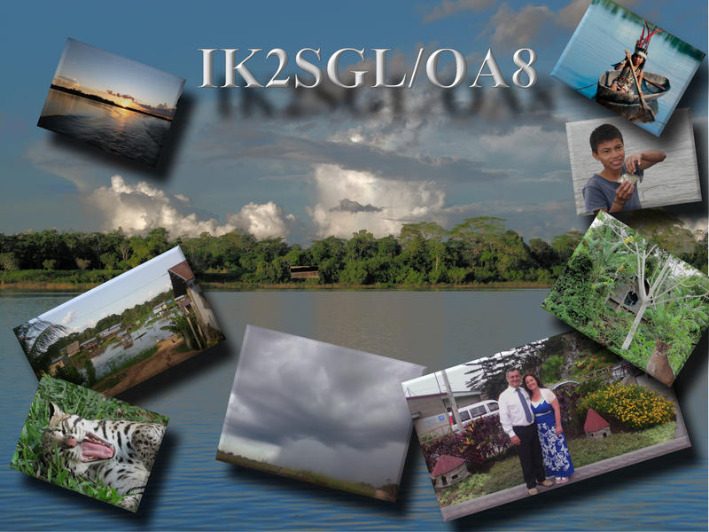 My qsl for direct sendings