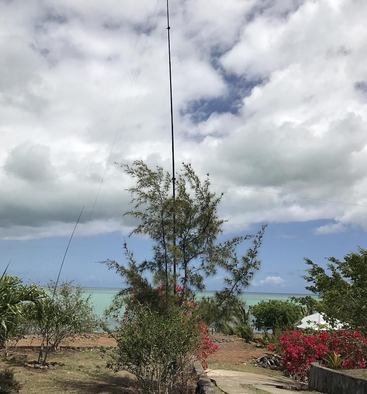 3B9HA low-band antennas