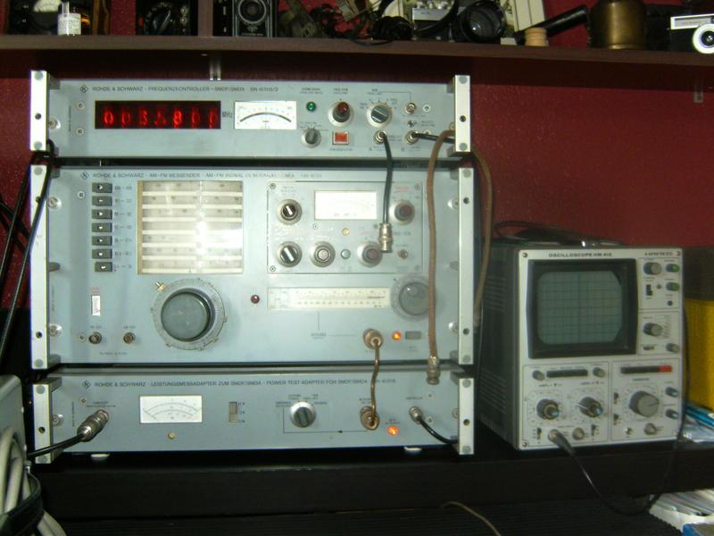 My test equipment Rhode & Schwarz