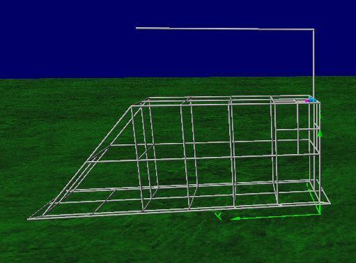 4nec2 Model DJ7UA Folding Antenna
