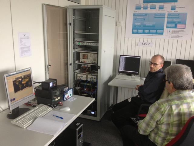 GENSO room. David and Norbert
