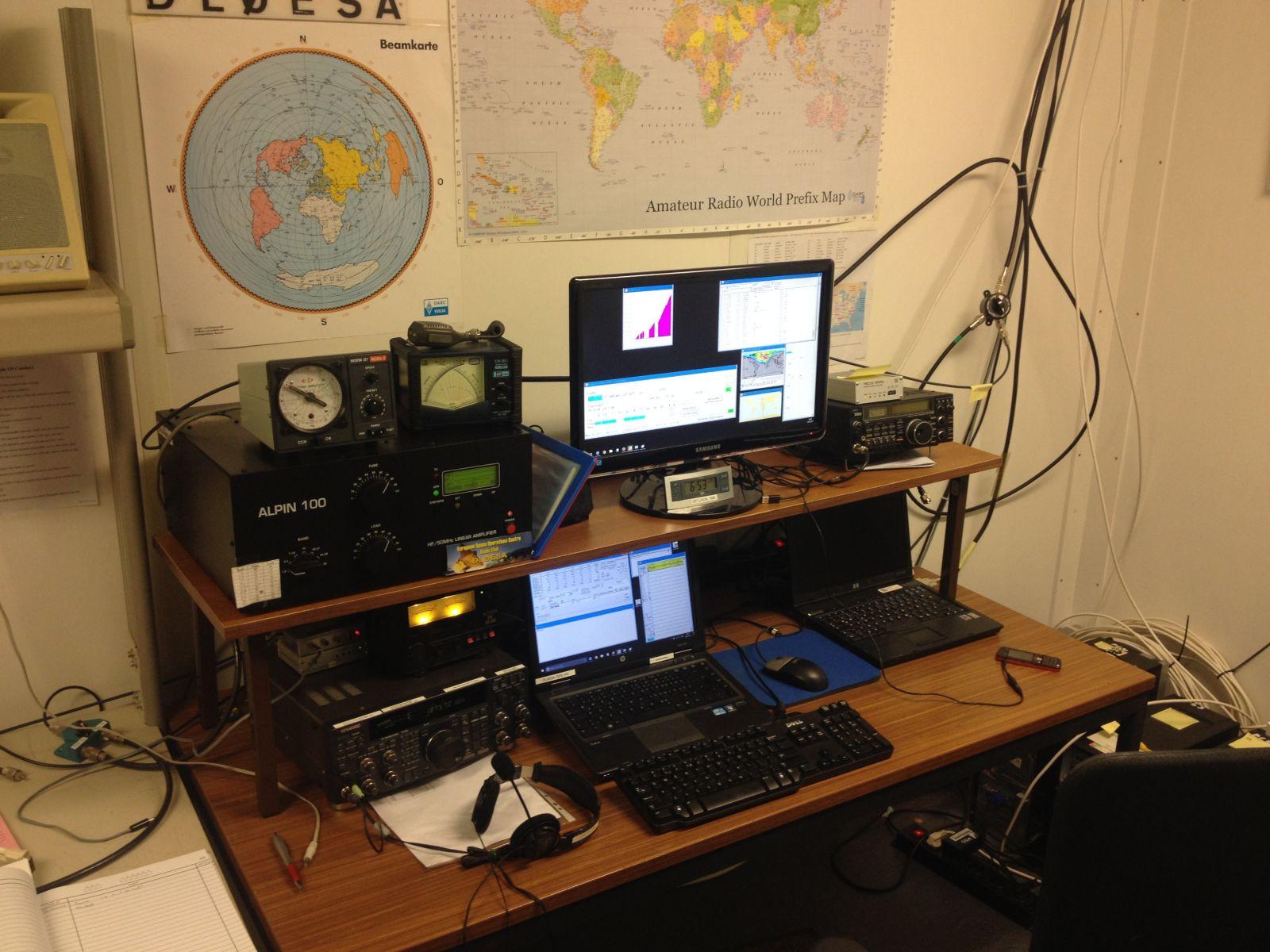 DL0ESA HF rig set-up 2017-03
