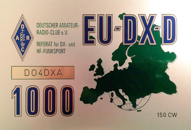 DO4DXA EU-DX Trophy