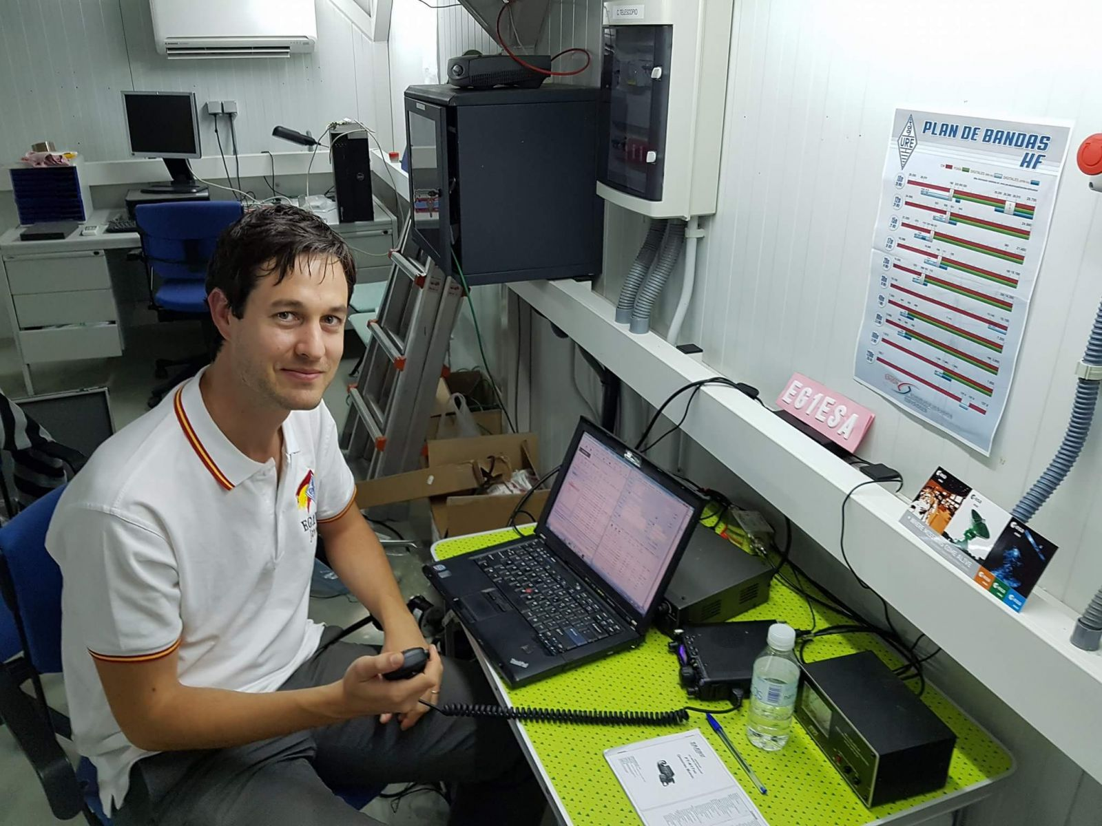 Javier Operating EG1ESA on 2017/09/28