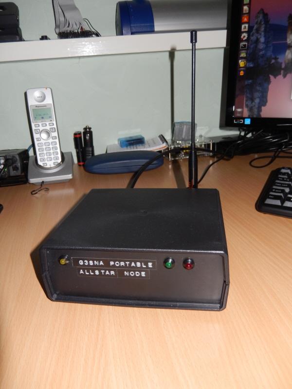 The RPi2 Portable Allstar node 29773