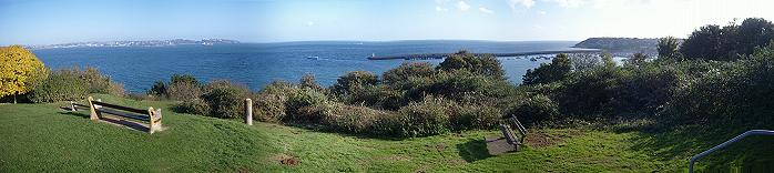 Battery Gardens, Brixham, Devon