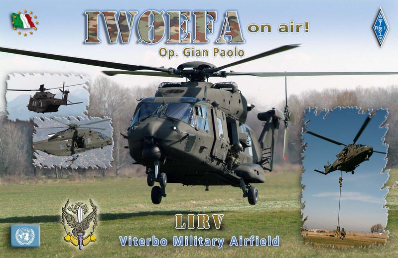 IW0EFA WITH NEW ELICOPTER NH90