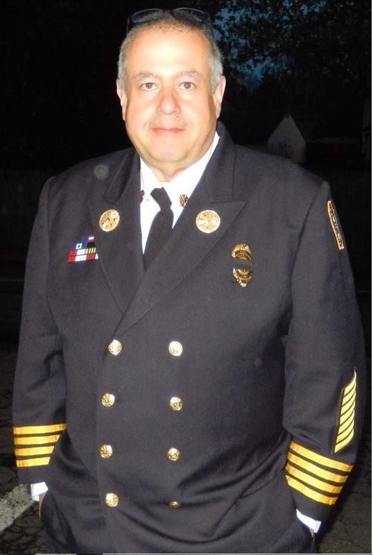 Me, 2015 in my Assistant Fire Chief's Uniform.