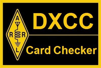 DXCC Card Checker