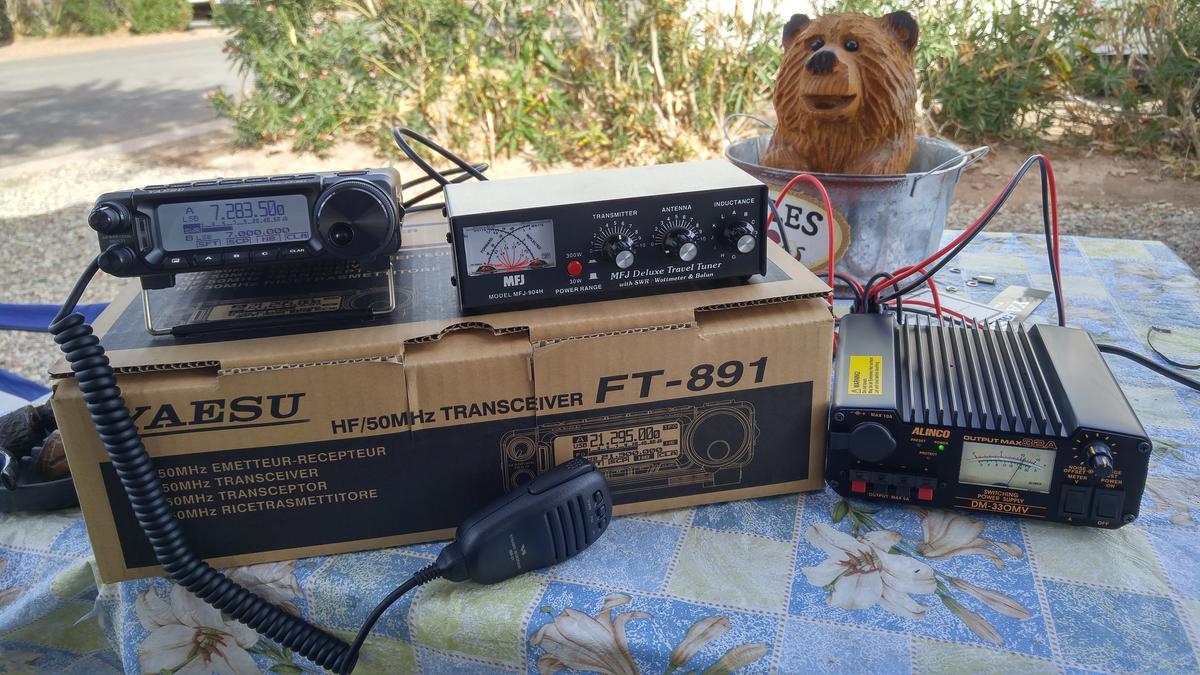 My New Portable HF Station!