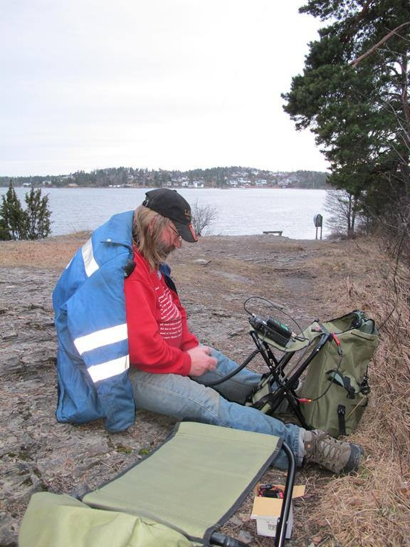 Portable operation from Kalvøya early spring  2014