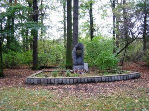 Monument of sgt. Jiří Potuček