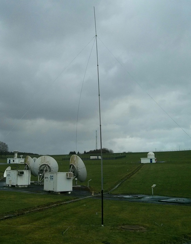 OR4ESA 40m monopole antenna