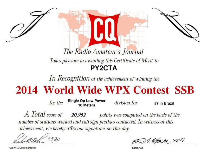 CQ WPX 2014 - PY2CTA - VALECIR GANDRA