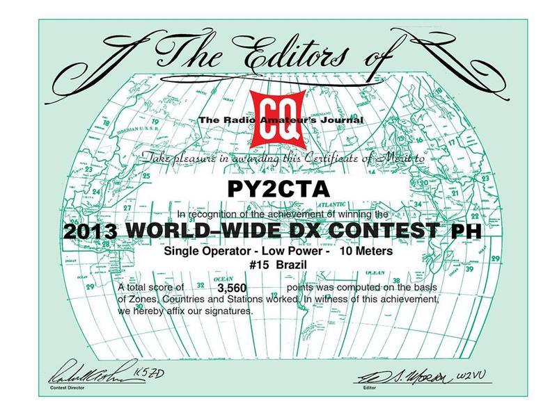 CQ WW 2014 - PY2CTA -VALDECIR GANDRA