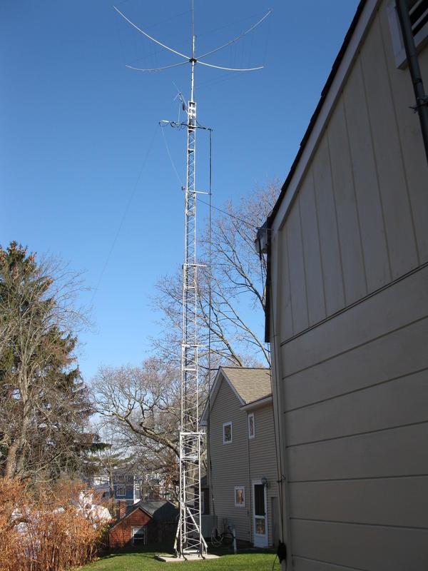 Gap amateur antenna