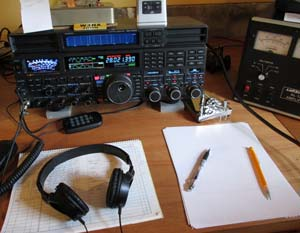 Operating position with FTdx5000MP and AL-1200